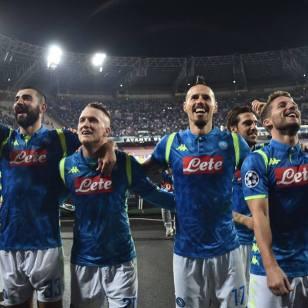 Napoli - Liverpool - Fonte SSC Napoli Facebook